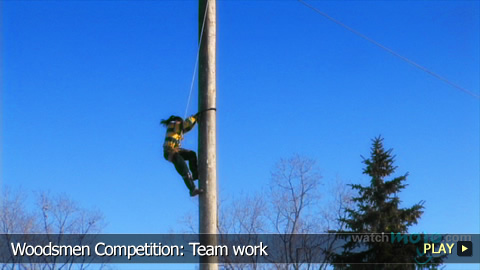 Woodsmen Competition: Team work
