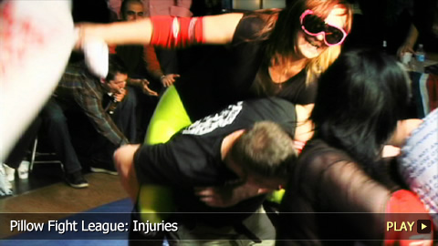 Pillow Fight League: Injuries