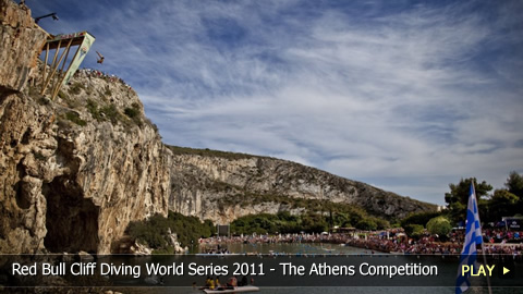 Red Bull Cliff Diving World Series 2011 - The Athens Competition Preview