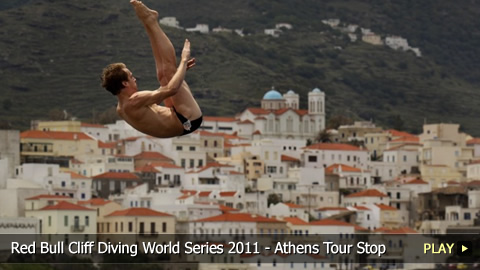 Red Bull Cliff Diving World Series 2011 - Athens as the Olympic Tour Stop