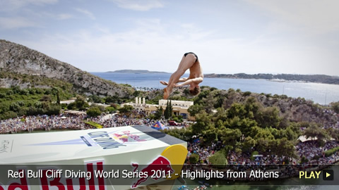 Red Bull Cliff Diving World Series 2011 - Highlights from the Athens Competition