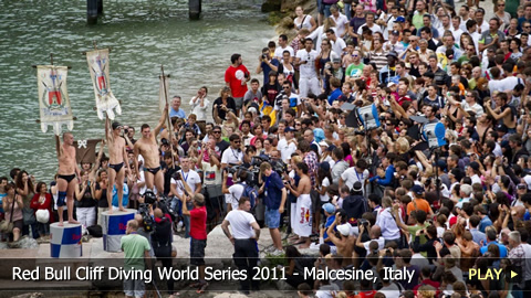 Red Bull Cliff Diving World Series 2011 - Heading to Malcesine, Italy