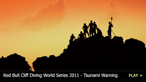 Red Bull Cliff Diving World Series 2011 - Tsunami Warning Disrupts the Rapa Nui Competition