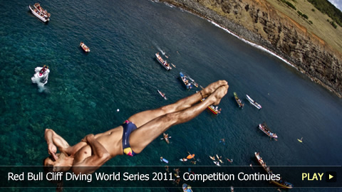 Red Bull Cliff Diving World Series 2011 - The Rapa Nui Competition Continues