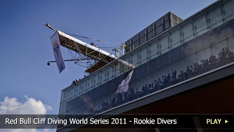Red Bull Cliff Diving World Series 2011 - Rookie Divers in Boston