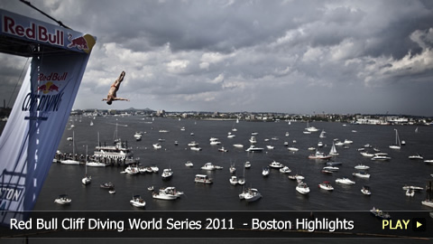 Red Bull Cliff Diving World Series 2011  - Highlights from the Boston Event