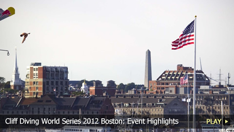 Cliff Diving World Series 2012 Boston: Event Highlights