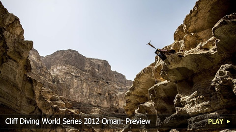 Cliff Diving World Series 2012 Oman: Preview