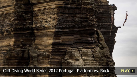 Cliff Diving World Series 2012 Portugal: Platform vs. Rock