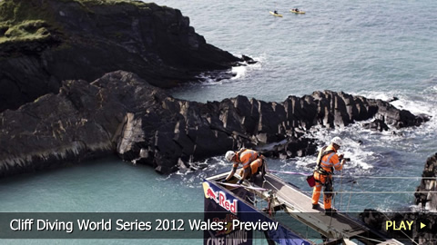Cliff Diving World Series 2012 Wales: Preview