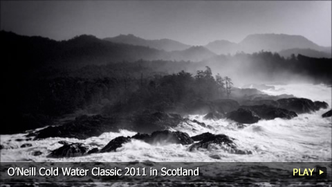 O'Neill Cold Water Classic 2011 in Scotland