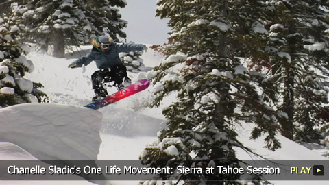 Chanelle Sladic's One Life Movement: Sierra at Tahoe Ski and Snowboard Spring Session