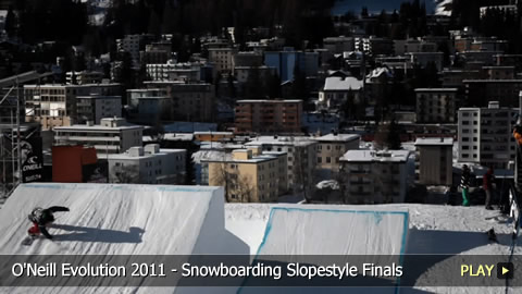 O'Neill Evolution 2011 - Snowboarding Slopestyle Finals