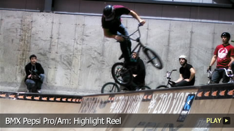 BMX Pepsi Pro/Am: Highlight Reel