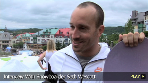 Interview With Snowboarder Seth Wescott