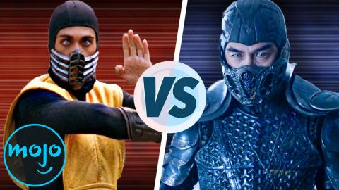 Mortal Kombat 1995 VS Mortal Kombat 2021