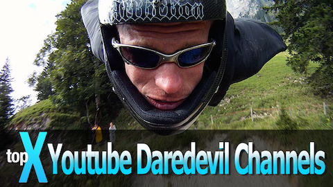 Top 10 Youtube Daredevil Channels - TopX Ep. 6