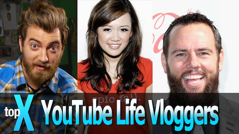 Top 10 YouTube Lifestyle Vloggers - TopX Ep.4