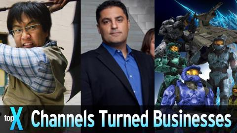 Top 10 YouTube Channels That Turned Into A Business - TopX Ep. 48