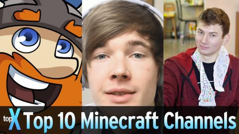 Top 10 YouTube Minecraft Channels  -  TopX Ep.35