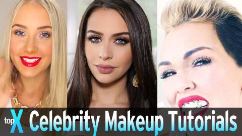 Top 10 YouTube Celebrity Makeup Tutorials -  TopX Ep.39