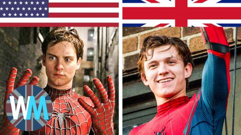 Top 10 British Recasts of American Characters