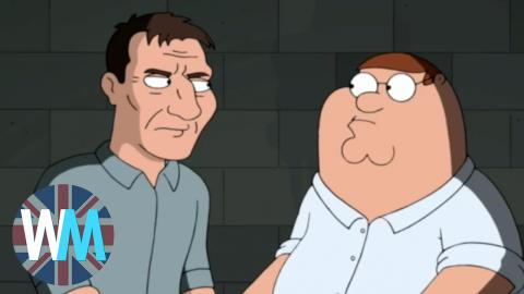 Top 10 British Guest Stars on Family Guy