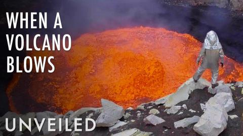 What Happens Inside an Erupting Volcano? | Unveiled