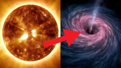 What If the Sun was a Black Hole?