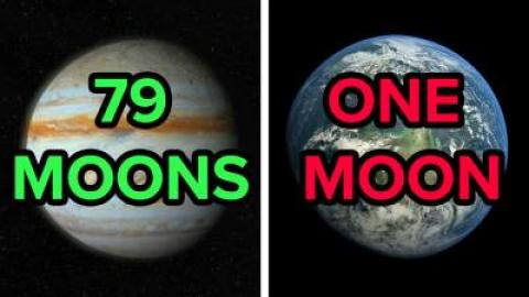 Why Does Jupiter Have 79 Moons, But Earth Only Has One?