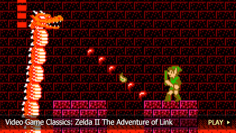 Video Game Classics: Zelda II The Adventure of Link