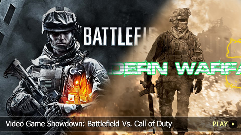 Video Game Showdown: Battlefield Vs. Call of Duty