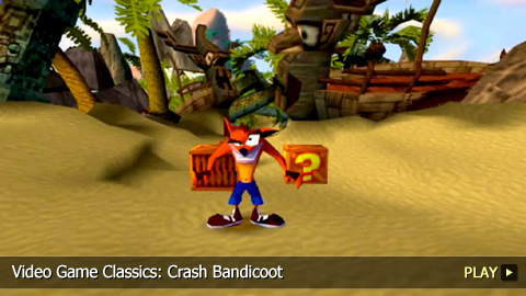 Video Game Classics Crash