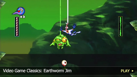 Video Game Classics: Earthworm Jim