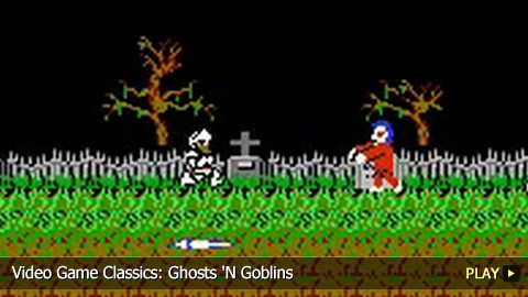 Ghosts N Goblins. Video Game Classics: Ghosts #39;N
