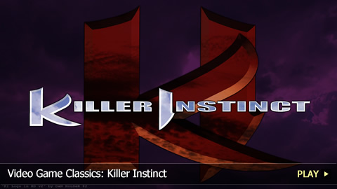 Video Game Classics: Killer Instinct