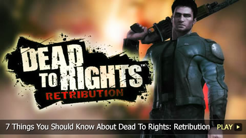 7 Things You Should Know About Dead To Rights: Retribution