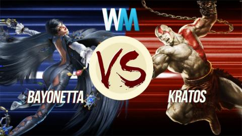 Kratos vs. Bayonetta: God Slayer Duel