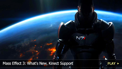 Mass Effect 3: What's New, Kinect Support