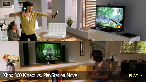 Xbox 360 Kinect vs. PlayStation Move