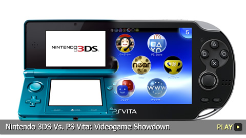 Nintendo 3DS Vs. PS Vita: Videogame Showdown