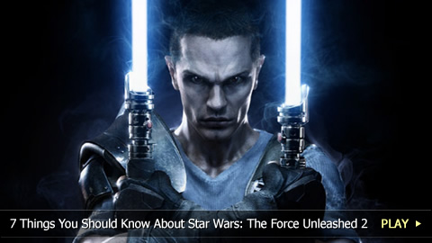 7 Things You Should Know About Star Wars: The Force Unleashed 2