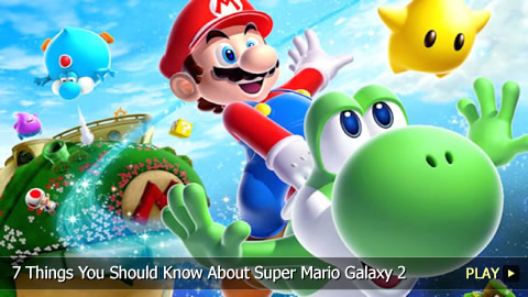 7 Things You Should Know About Super Mario Galaxy 2