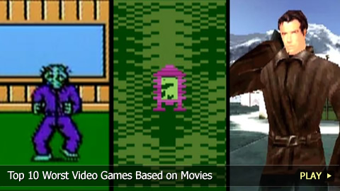 Top 10 Worst Video Games Based on Movies