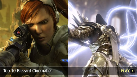 Top 10 Blizzard Cinematics