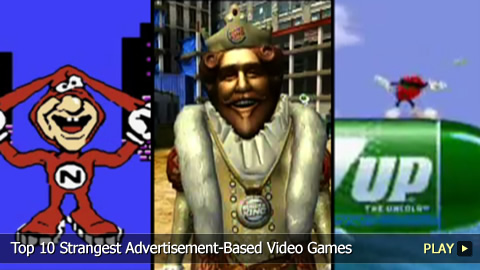 Top 10 Strangest Advertisement-Based Video Games