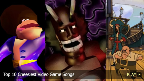 Top 10 Cheesiest Video Game Songs
