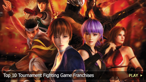 Top 10 Tournament Fighting Game Franchises