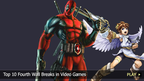 Top 10 Fourth Wall Breaks in Video Games