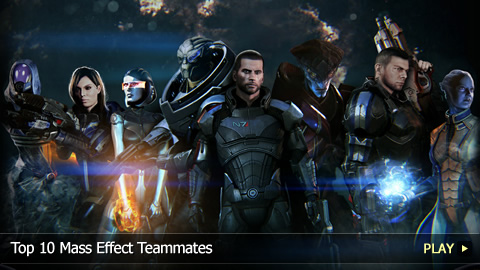 Top 10 Mass Effect Teammates